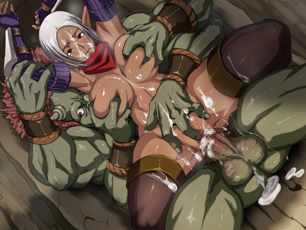 monster hentai rape
